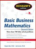 Basic Business Mathematics : More Than 700 Fully Solved Problems, Lerner, Joel J. and Don, Eugene, 0071611584