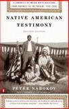 Native American Testimony, Peter Nabokov, 0140281592