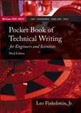 Pocket Book of Technical Writing for Engineers and Scientists, Finkelstein, Leo, 0073191590