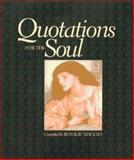 Quotations for the Soul, Maggio, Rosalie, 0137691599