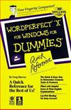 WordPerfect 8 for Windows for Dummies Quick Reference 9780764501593