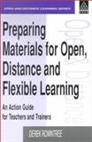 Preparing Materials for Open, Distance and Flexible Learning, Derek Rowntree, 0749411597