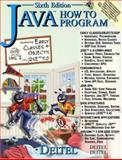 Java How to Program and CD Version One, Deitel, Harvey M. and Deitel, Paul J., 0131541595