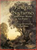 Favorite Nocturnes and Other Works for Piano, John Field, 0486441598