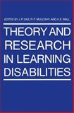 Theory and Research in Learning Disabilities, Das, J. P., 1489921591