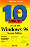 10 Minute Guide to Windows 95, Plumley, Sue, 0789711605