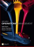 Operations Management with MyOMLab, Slack, Nigel and Chambers, Stuart, 0273731602