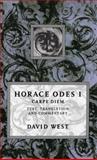 Horace : Odes I: Carpe Diem, Horace, 0198721609