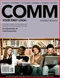 COMM Preview Edition, Verderber, Rudolph F. and Verderber, Kathleen S., 0495571601