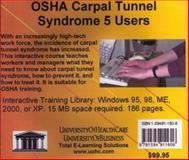 OSHA Carpal Tunnel Syndrome, 5 Users, Farb, Daniel and Gordon, Bruce, 1594911606