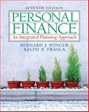 Personal Finance Integrated and Companion Website Access Card Package, Winger, Bernard J. and Frasca, Ralph R., 0132191601