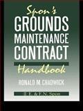 Spon's Grounds Maintenance Contract Handbook 9780419151609