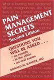Pain Management Secrets, Kanner, Ronald M., 1560531606