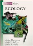 Ecology, MacKenzie, A. and Ball, A. S., 1859961614