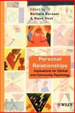 Personal Relationships : Implications for Clinical and Community Psychology, , 0471491616