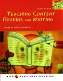 Teaching Content Reading and Writing, Ruddell, Martha Rapp, 0471151610