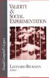 Validity and Social Experimentation : Donald Campbell's Legacy, , 0761911618