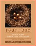 Four in One : Rhetoric, Reader, Research Guide, and Handbook, Dornan, Edward A. and Dees, Robert, 0321261615