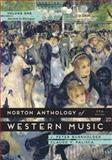 Norton Anthology of Western Music 7e V 1, Burkholder, J. Peter and Grout, Donald J., 0393921611