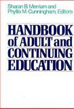Handbook of Adult and Continuing Education, Merriam, Sharan B., 155542161X