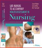 Health Assessment in Nursing, Weber, Janet R. and Kelley, Jane, 0781781612
