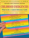 Childhood Emergencies, Marin Child Care Council Staff, 0923521623