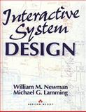 Interactive System Design, Newman, William H. and Lamming, Michael G., 0201631628