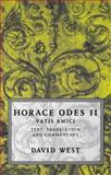 Horace Odes II : Vatis Amici, Horace, 0198721625