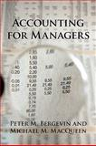 Accounting for Managers 9781450211628