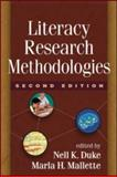 Literacy Research Methodologies, Second Edition, , 160918162X