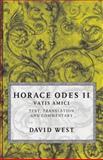 Horace : Odes II - Vatis Amici, Horace, 0198721633