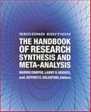 Handbook of Res Synthesis 2 Ed, Cooper, Harris M. and Hedges, Larry V., 0871541637