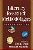 Literacy Research Methodologies, Second Edition, , 1609181638