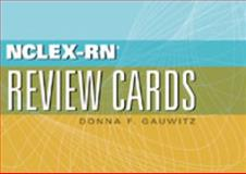 NCLEX-RN Review Cards, Gauwitz, Donna F., 1401861636
