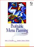 Profitable Menu Planning, Drysdale, John A. and Galipeau, Jennifer A., 0130891649