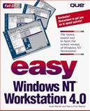 Easy Windows NT Workstation 4.0, Warner, Scott and Warner, Nancy Price, 0789711648