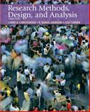 Research Methods, Design, and Analysis, Christensen, Larry B. and Johnson, R. Burke, 0205701655