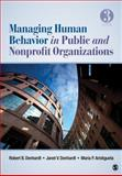 Managing Human Behavior in Public and Nonprofit Organizations, Aristigueta, Maria P. and Denhardt, Robert B., 141299165X
