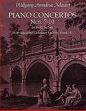 Piano Concertos Nos. 7-10 in Full Score, Wolfgang Amadeus Mozart, 0486411656