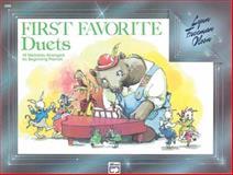 First Favorite Duets, Lynn Freeman Olson, 0739021656