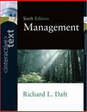 Interactive Text for Management, Daft, Richard L., 0324271654