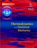 Thermodynamics and Statistical Mechanics, Seddon, John M. and Gale, Julian D., 0471281654