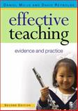 Effective Teaching : Evidence and Practice, Muijs, Daniel and Reynolds, David, 1412901650