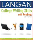 College Writing Skills with Readings, Langan, John, 0073371661