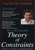 Theory of Constraints, Goldratt, Eliyahu M., 0884271668