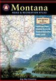 Montana Road and Recreation Atlas, Benchmark Maps, 0929591666
