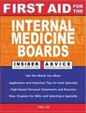 First Aid for the Internal Medicine Boards, Le, Tao and Baudendistel, Tom, 0071421661