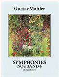 Symphonies Nos. 3 and 4 in Full Score, Gustav Mahler, 0486261662