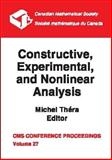 Constructive, Experimental, and Nonlinear Analysis, , 0821821679