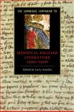 The Cambridge Companion to Medieval English Literature, 1100-1500, , 0521841674